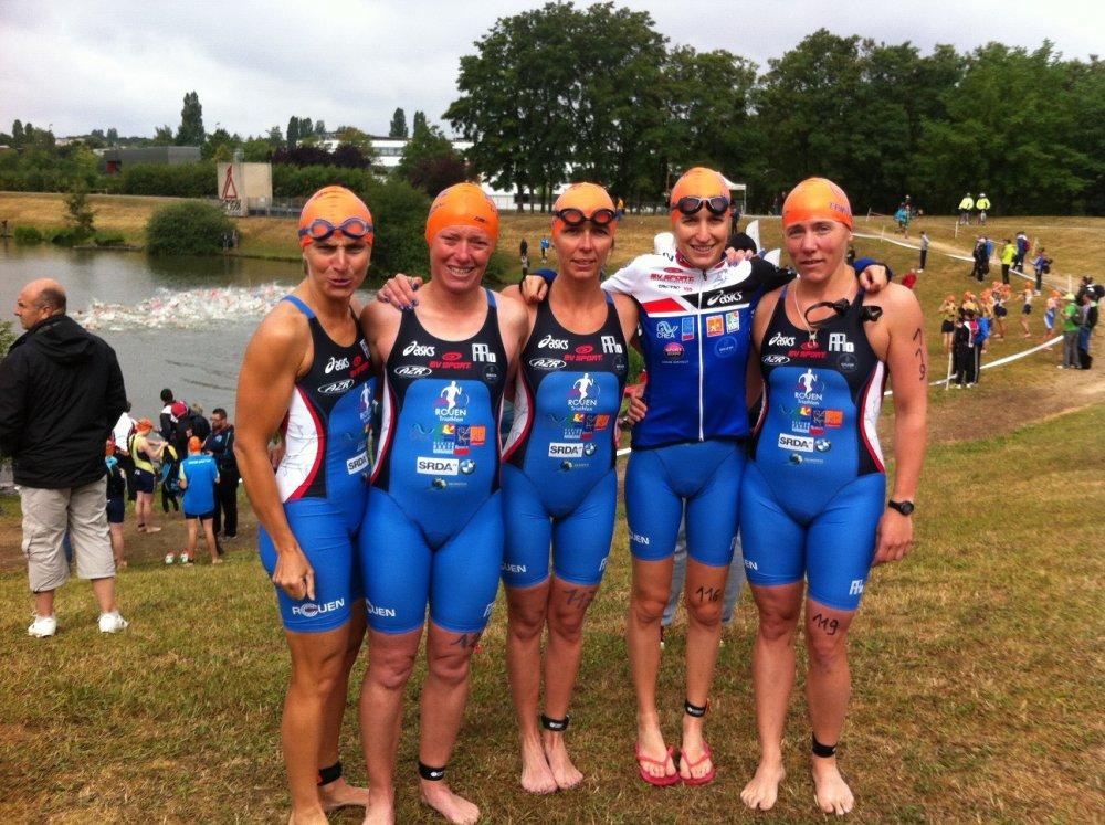 Equipe Femme avant le départ D3 Metz