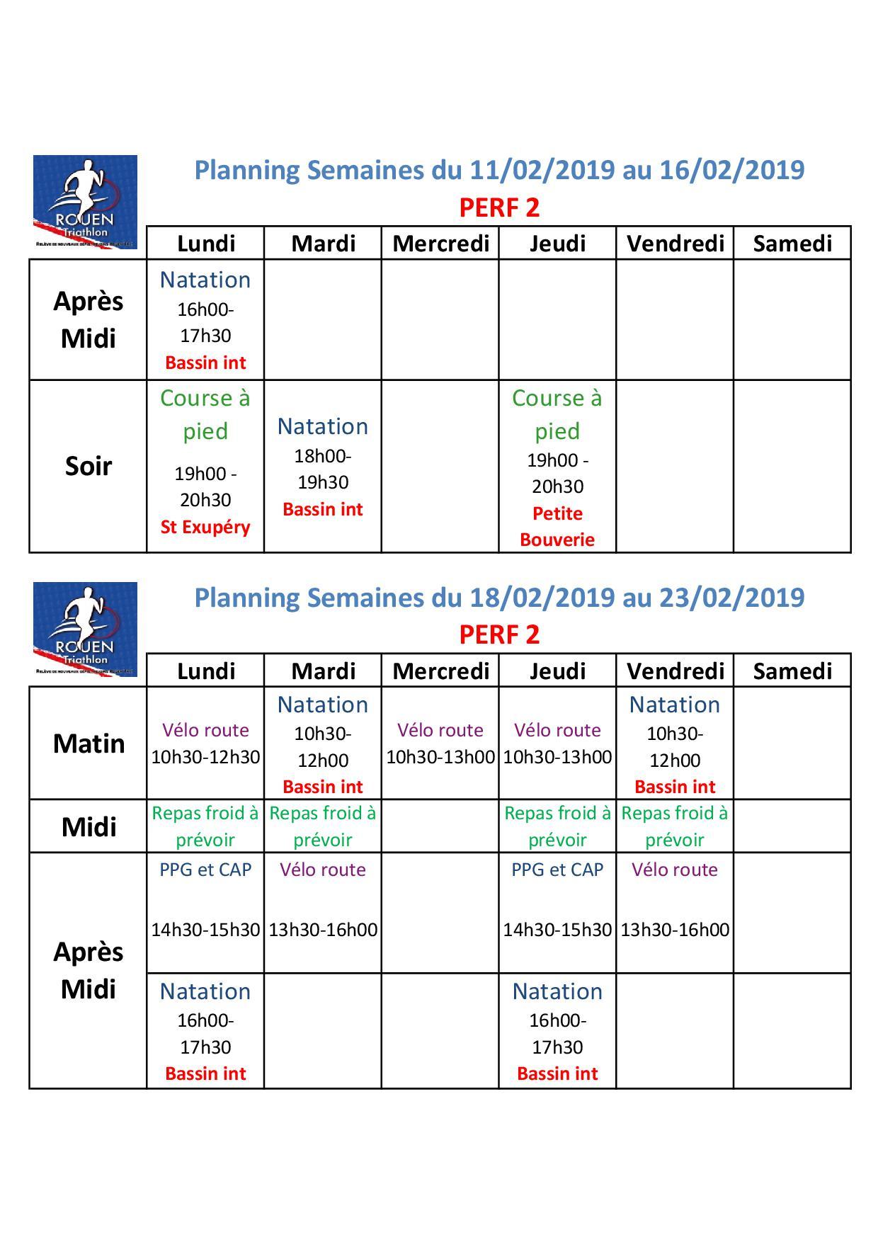 Planning vacances Février Perf2